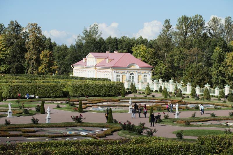 Chambre en parc Oranienbaum de palais Région de Léningrad image libre de droits