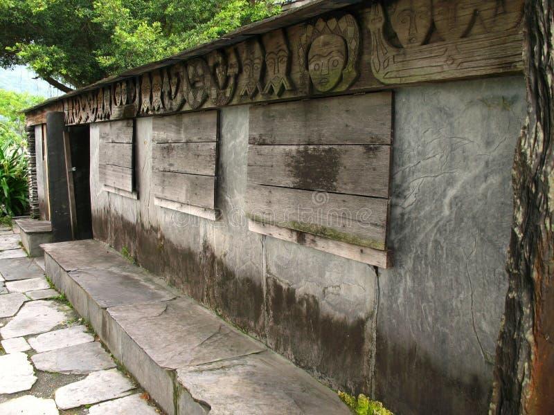 Chambre en pierre indigène photographie stock