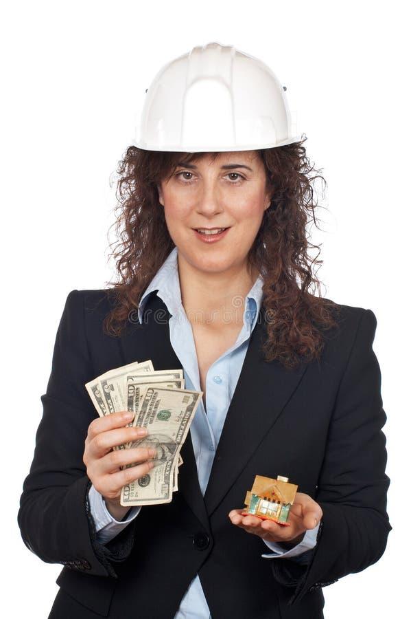 Chambre et argent image stock