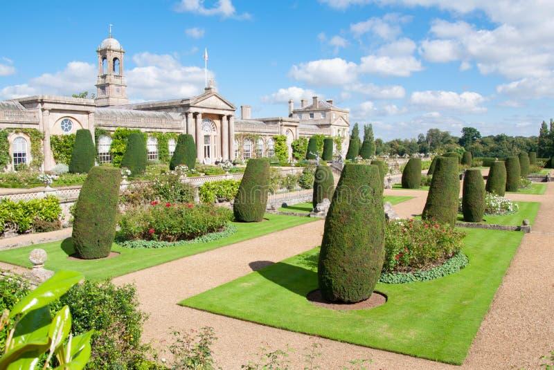 Chambre et jardins de Bowood image stock
