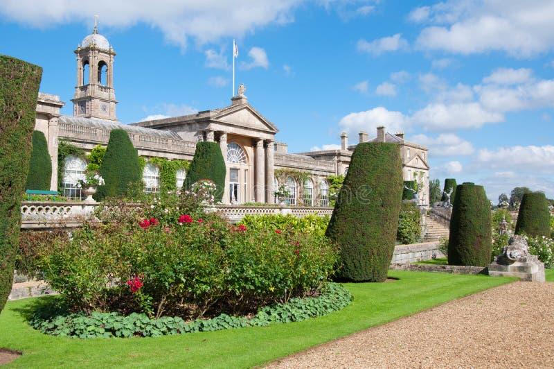 Chambre et jardins de Bowood images stock