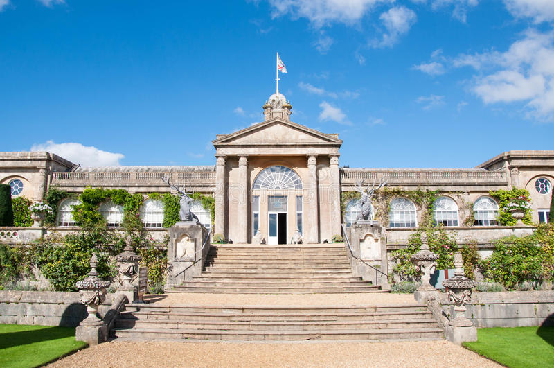 Chambre et jardins de Bowood photos libres de droits