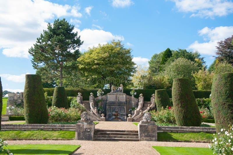 Chambre et jardins de Bowood photographie stock libre de droits