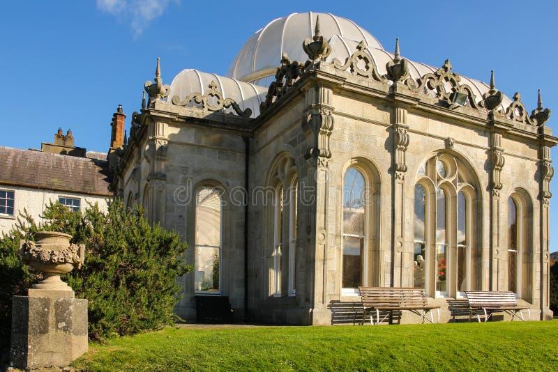 Chambre et jardins de Kilruddery. Orangerie. l'Irlande photographie stock