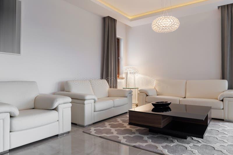 Chambre familiale confortable photo stock