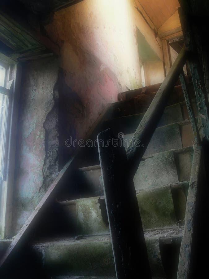 Chambre hantée photo stock
