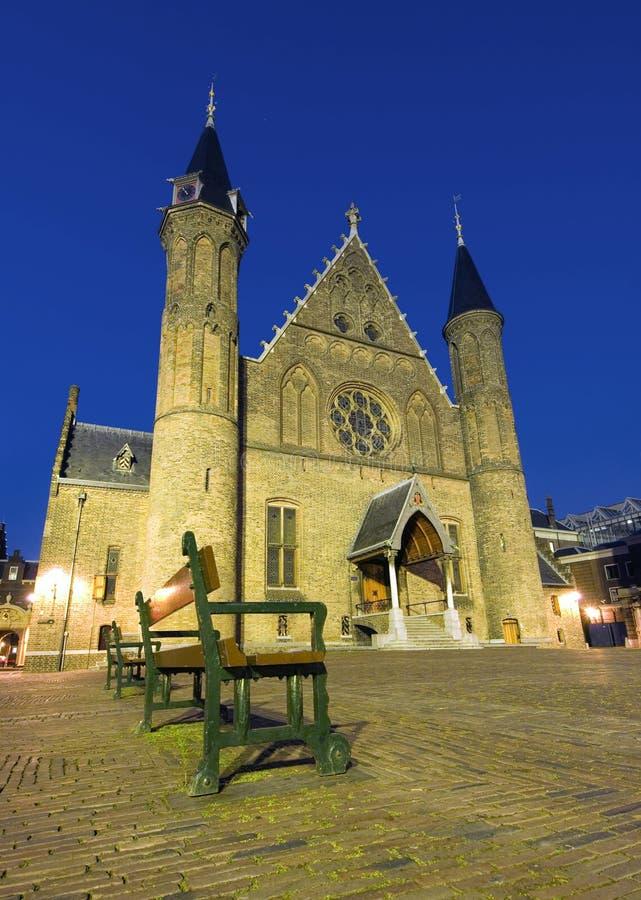 Chambre hollandaise du Parlement images stock