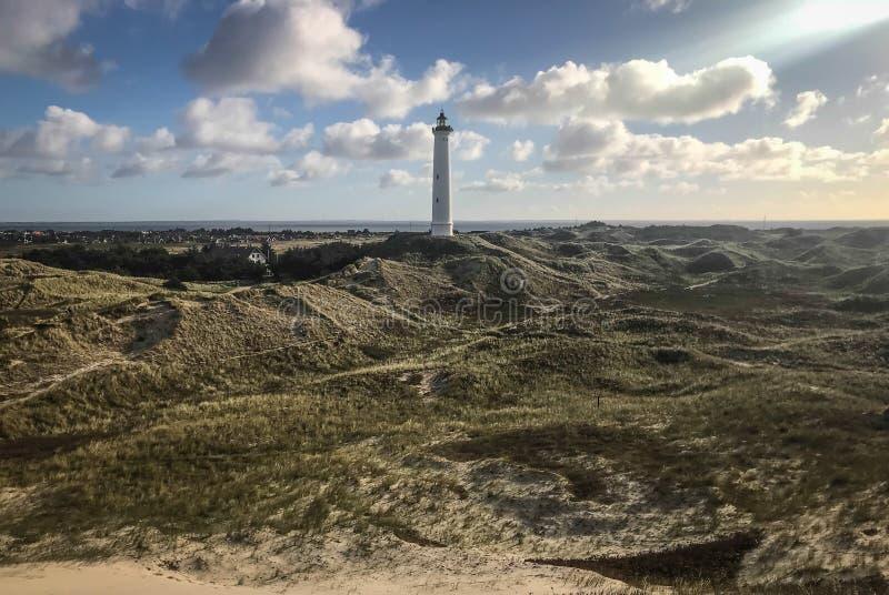 Chambre légère Le Jutland occidental denmark photo libre de droits