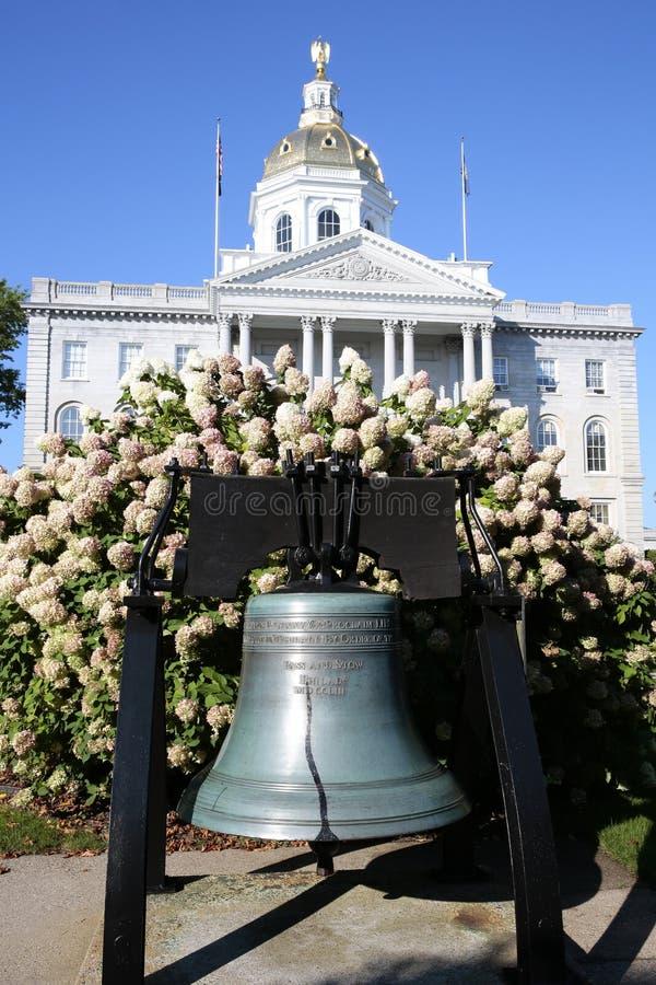 Chambre New Hampshire d'état images libres de droits