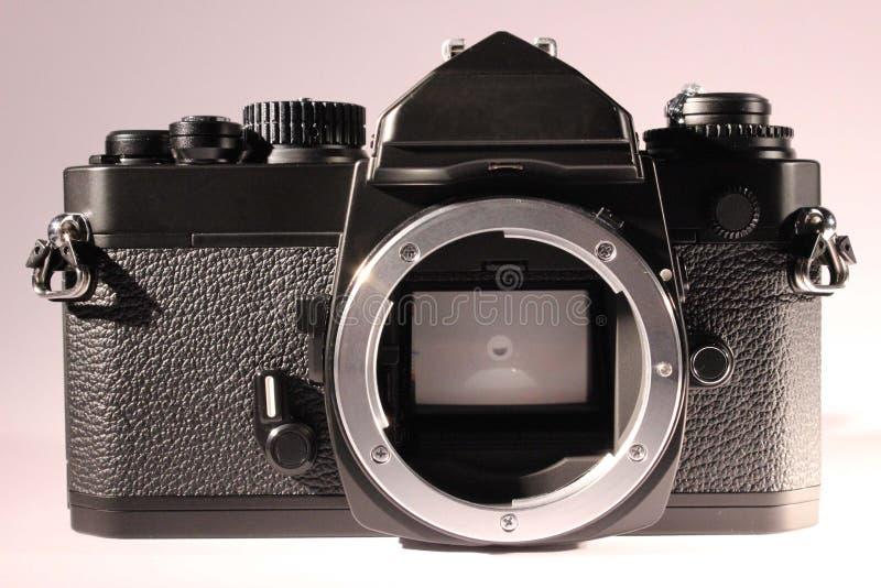 Chambre noire analogue sans lentille, vue de face image libre de droits