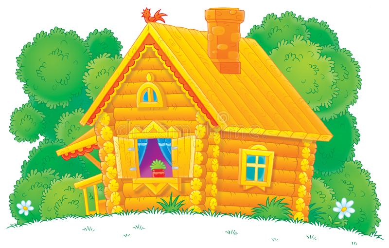 Chambre rurale illustration stock