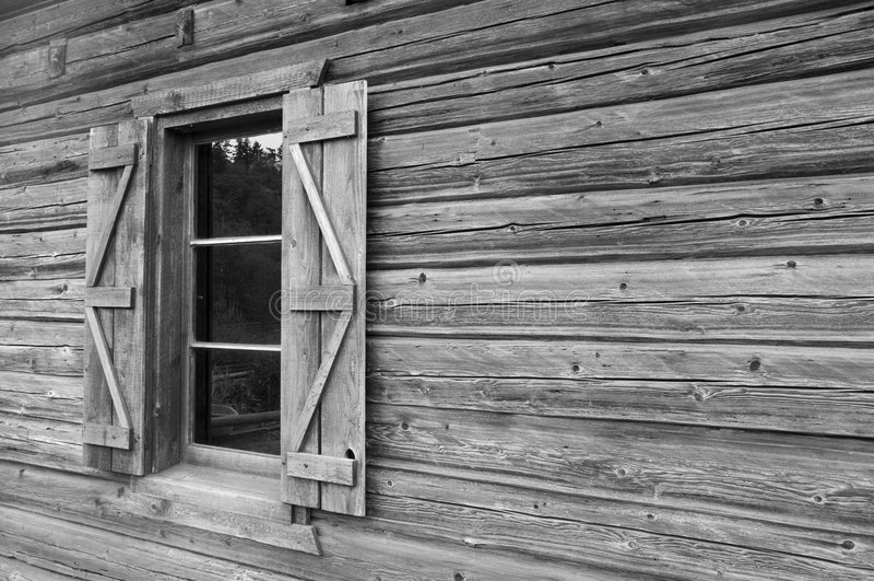 Chambre rustique de ferme image libre de droits