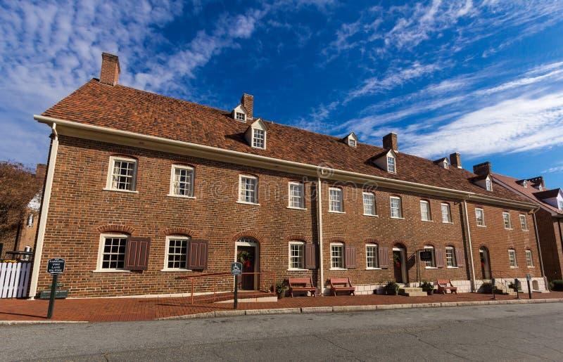 Chambre simple de soeurs chez Salem College photos stock