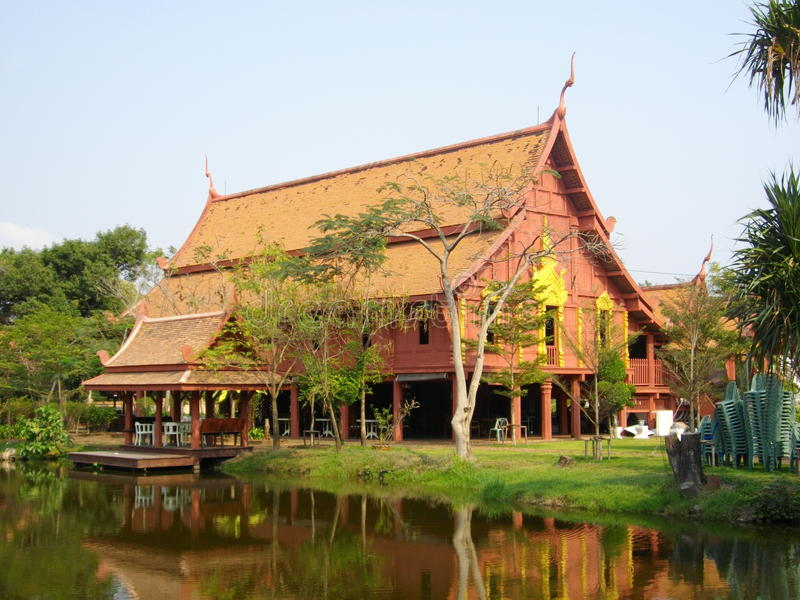 Chambre thaïe photo libre de droits