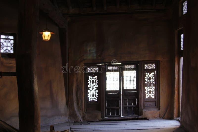 Chambre traditionnelle de la Corée image libre de droits