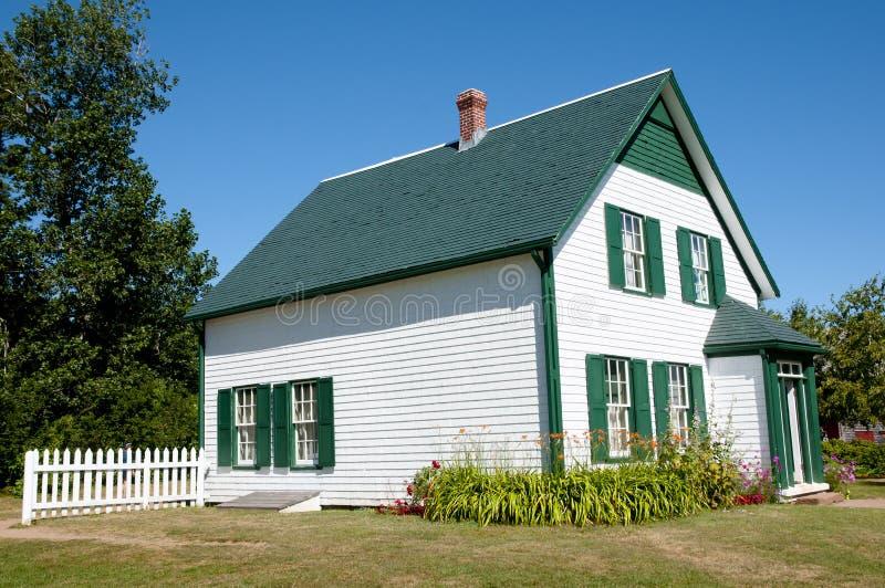 Chambre verte de pignons - prince Edward Island - Canada photos libres de droits