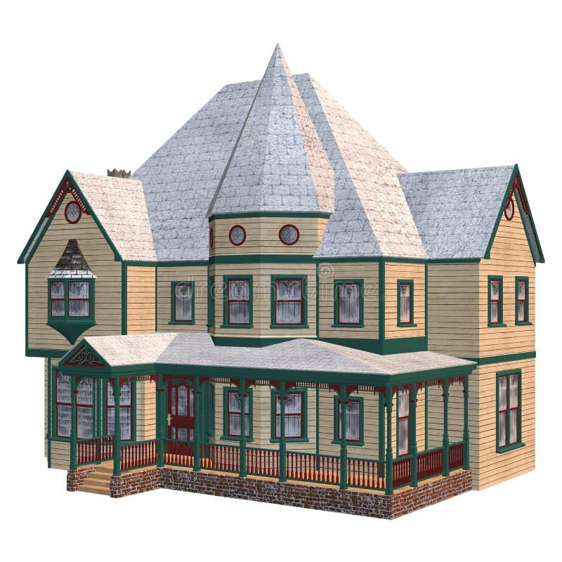 chambre victorienne d 39 hiver illustration stock illustration du r sidence angleterre 40866038. Black Bedroom Furniture Sets. Home Design Ideas