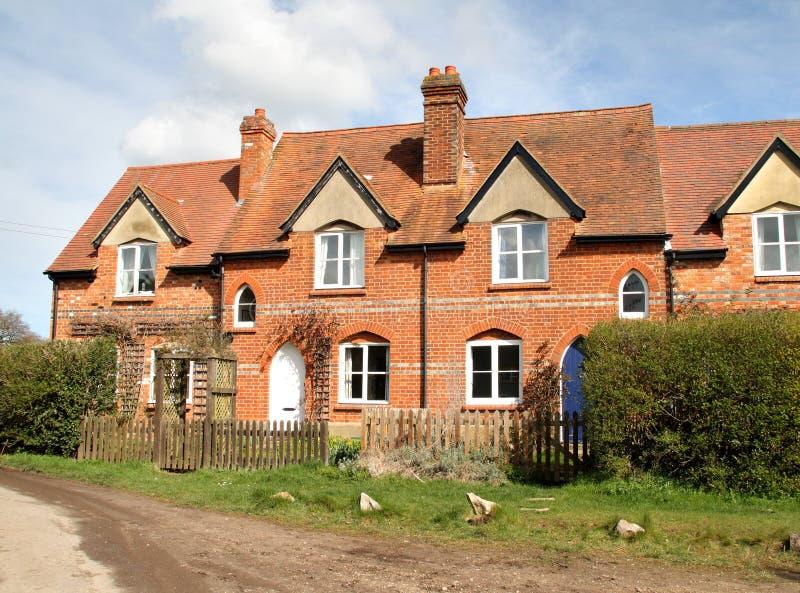 Chambres anglaises de village photographie stock