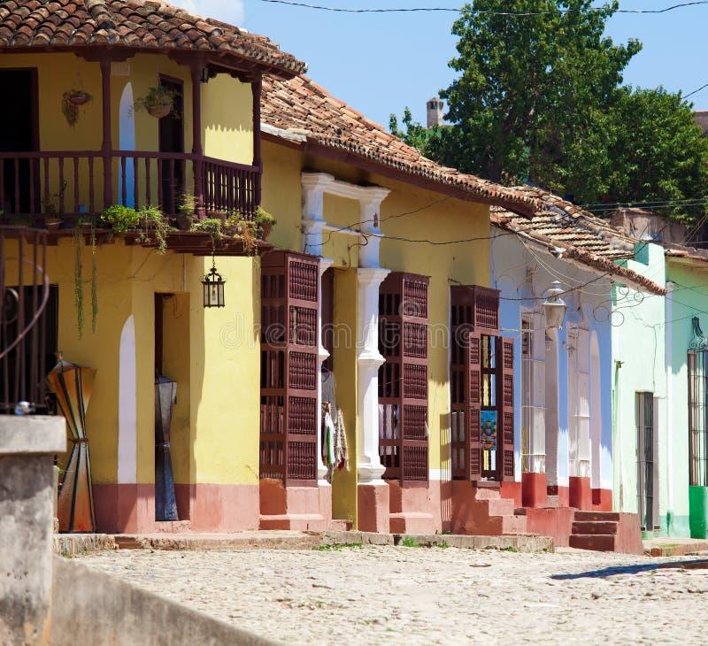 Chambres au Trinidad, Cuba photo stock