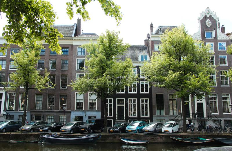 Chambres d'Amsterdam, Pays-Bas images stock
