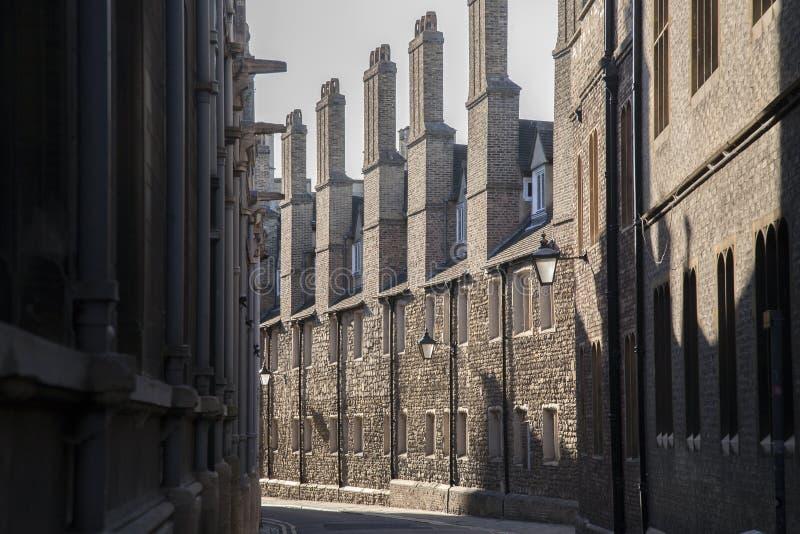 Chambres dans la ruelle de trinité, Cambridge photo stock