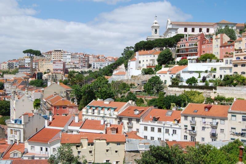 Chambres de Graça, Lisbonne photo stock