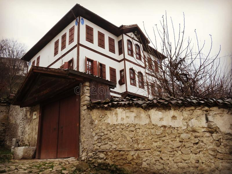 Chambres de Safranbolu photographie stock