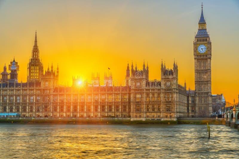 Chambres du parlement, Londres photo libre de droits