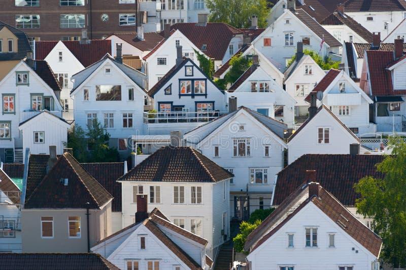 Chambres. La Norvège, Stavanger image libre de droits
