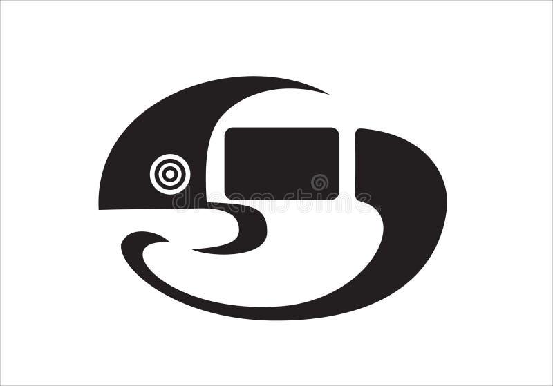 Download Chameleon stock vector. Image of chameleon, sign, striped - 21714483