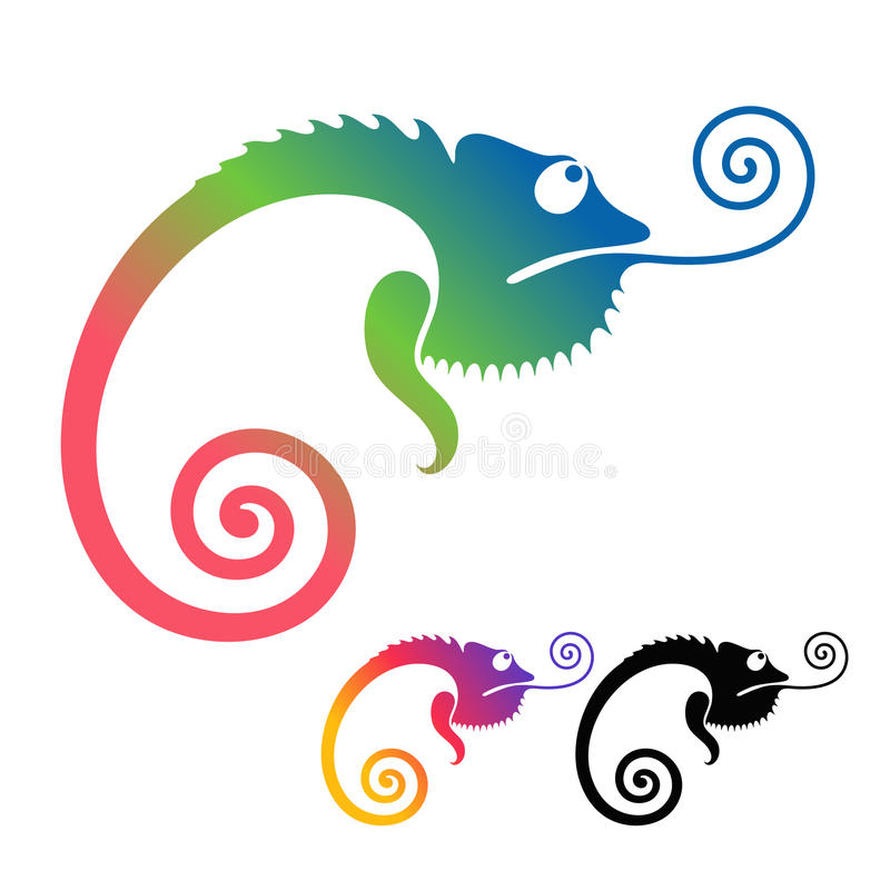 Download Chameleon stock vector. Illustration of reptile, animals - 29333653