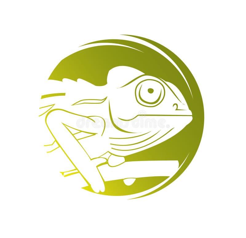Chameleon. Illustrator design .eps 10 royalty free illustration