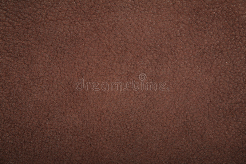 Chamois Lether Brown Texture Royalty Free Stock Images