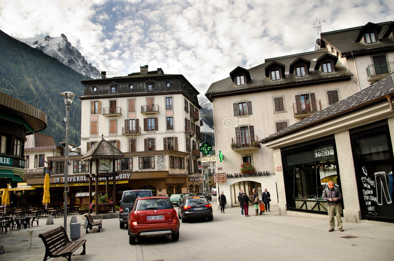 Chamonix, France royalty free stock image