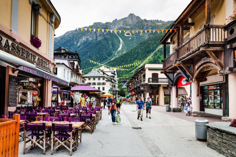 Download Chamonix, France editorial image. Image of europe, travel - 30003740