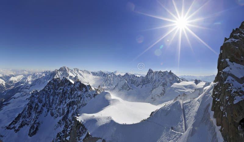 Chamonix France. Chamonix. Extreme France. 3700 altitude royalty free stock photos