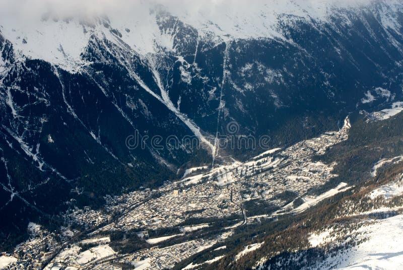 Chamonix, Frankrijk royalty-vrije stock fotografie