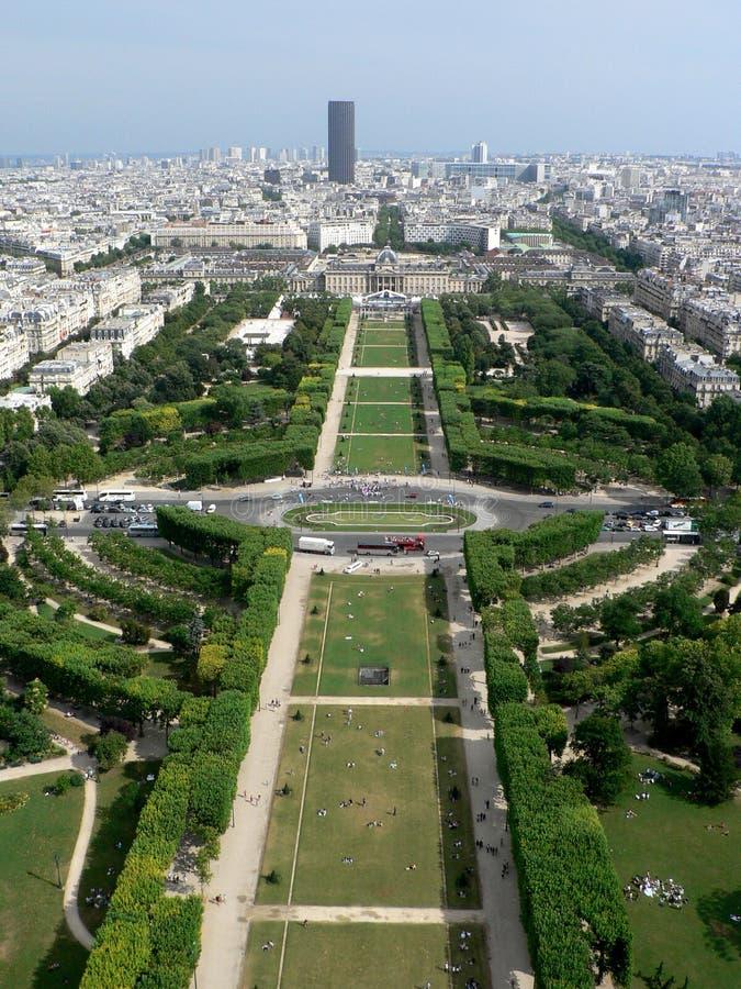 champ το de χαλά το Παρίσι στοκ φωτογραφίες