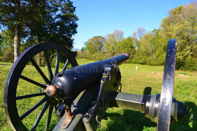 Champ de bataille de ressortissant de Vicksburg photos libres de droits