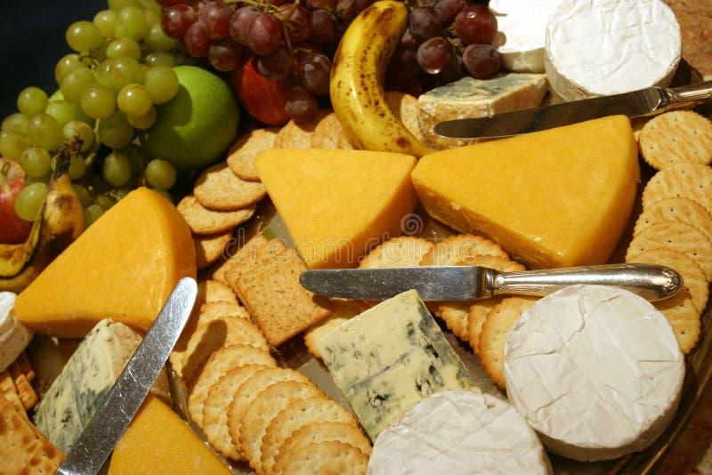 Champ de cablage à couches multiples de fromage image libre de droits