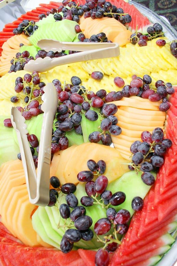 Champ de cablage à couches multiples de fruit photographie stock libre de droits