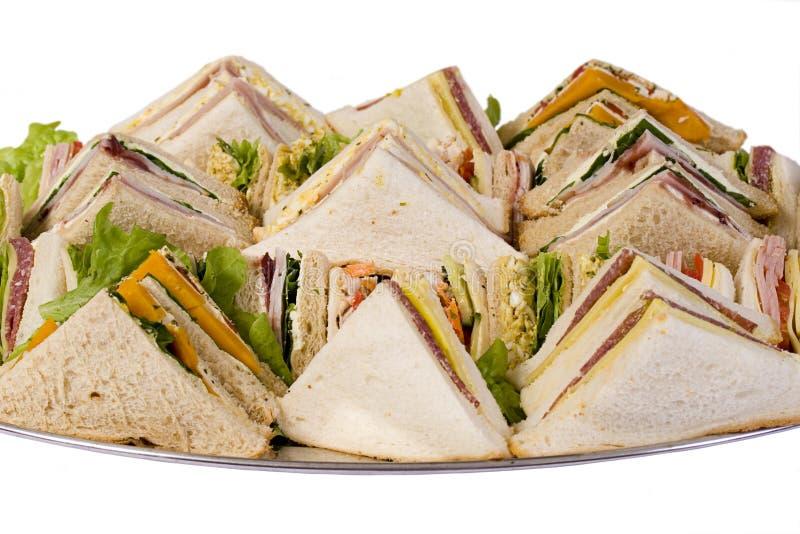 Champ de cablage à couches multiples de restauration de sandwich images libres de droits