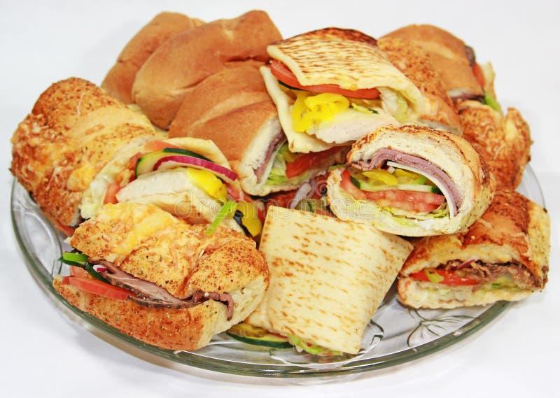 Champ de cablage à couches multiples de sandwich images libres de droits