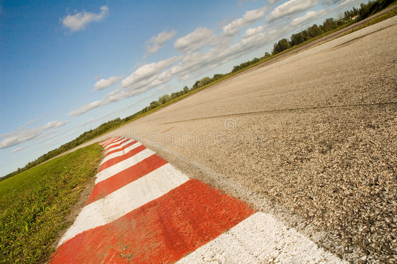 Champ de courses vide photos libres de droits