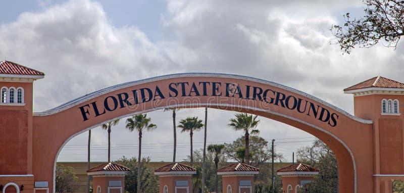 Champ de foire d'état de la Floride photos stock