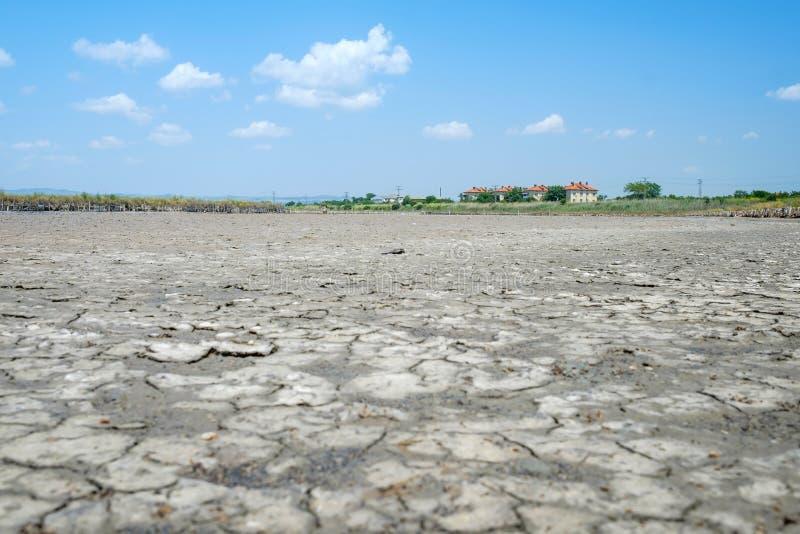 Champ de la boue sèche 3 photo libre de droits