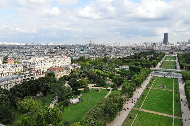 Champ de Mars royalty free stock photography