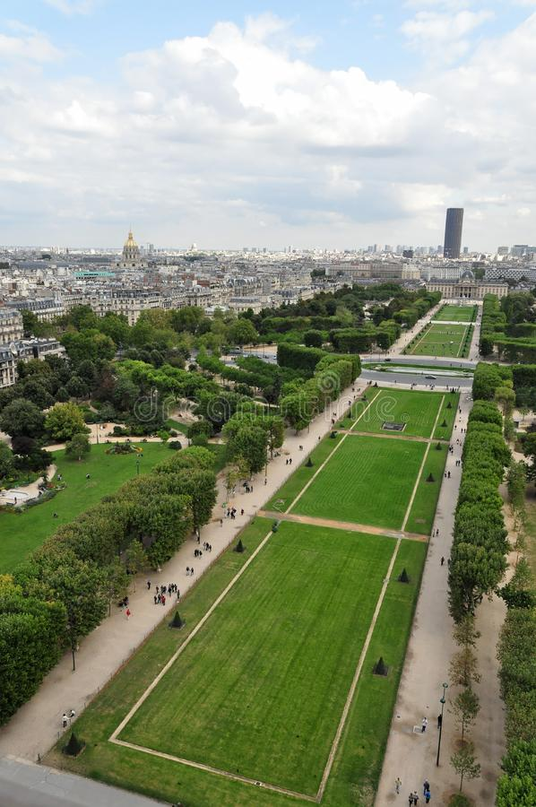 Champ de Mars stock images