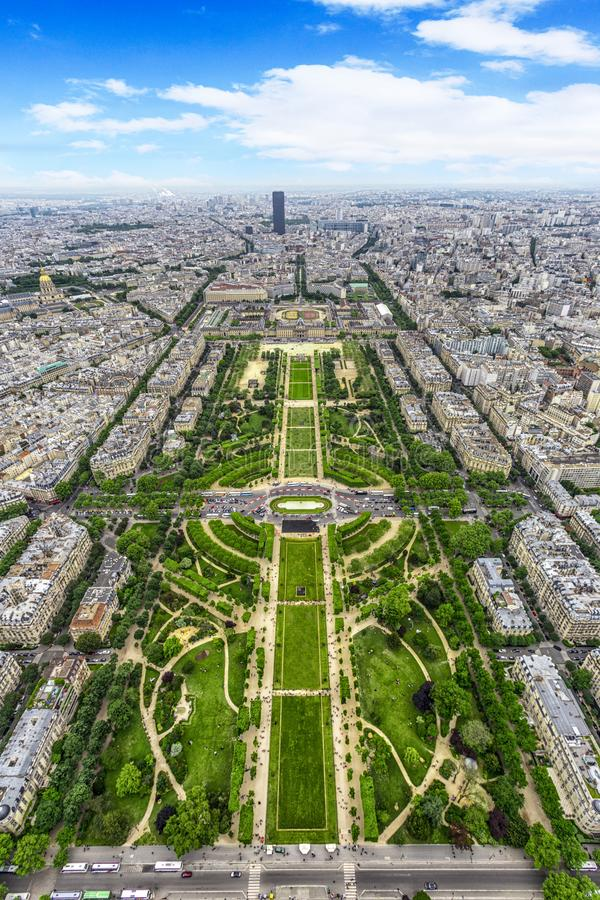 Free Champ De Mars, A Green Hole In The Metropolis Royalty Free Stock Photography - 161261417