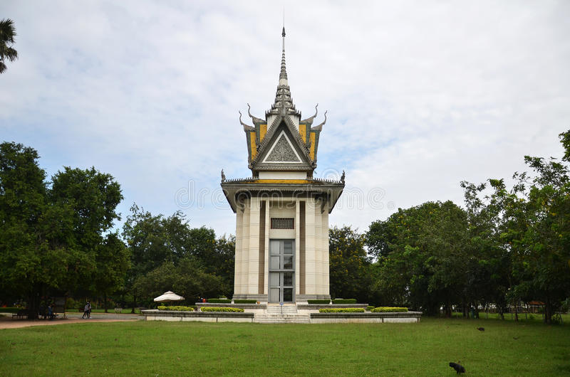 Champ de massacre du Cambodge Phnom Pench photographie stock